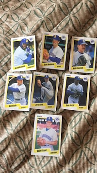 Seattle mariners baseball cards Mt Olive Township