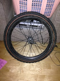 Mountain bike wheel tire combo 24""