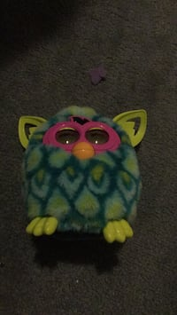 Blue and green furby  toy Central Okanagan