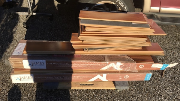 St James Collection V Groove Laminate Flooring