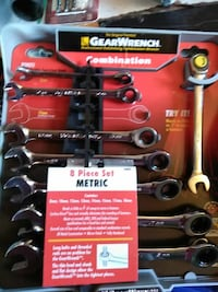 chrome Gearwrench combination wrench set St. Peters