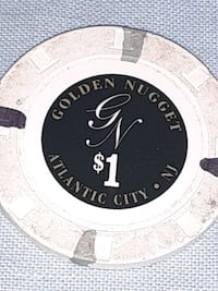 1st $1 chip from Golden nugget Atlantic City
