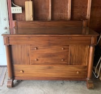 Antique Cherry Dining Buffet Sideboard Knoxville, 21758