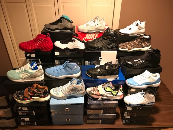 5df3a9b4e7997e Used Assorted Deadstock (Brand New) Nike Air Jordan Retro  Asics Shoes for  sale in Orangetown - letgo