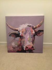 Cattle head painting Surrey, V3Z 1E3