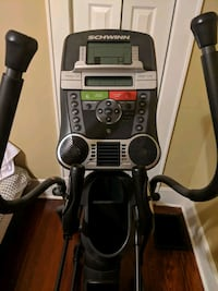 black and gray elliptical trainer Lindale, 30147