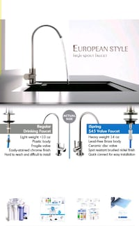Ispring Reverse Osmosis Drinking Filtration System