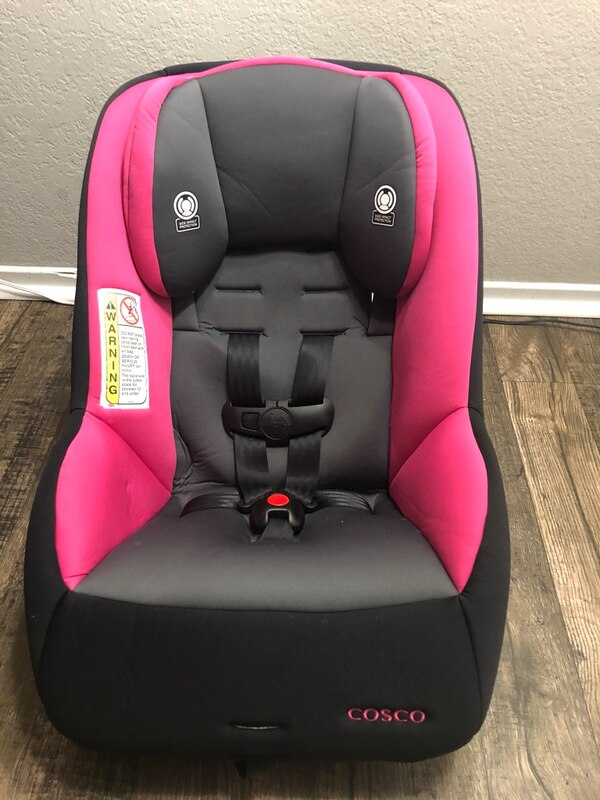 Cosco MightyFit 65 Convertible Car Seat Coral Reef Pink