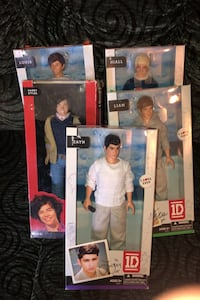 5 1D dolls ( NEW NEVER OPENED  Clayton, 27520