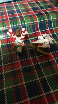 Brand new Hallmark ornaments Scooby Doo and a pair of ice skates. Selling both for 20.00. Oklahoma City, 73159