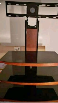black and brown wooden TV stand Fairfax, 22032