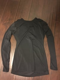 new black long sleeve top size small.
