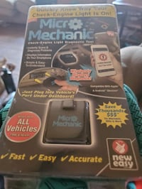 Micro Mechanic Check Engine Light Diagnostic  Tool - New in Package!