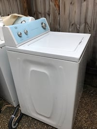 Used White Top Load Washer Roper Washer Open Box Never