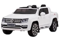 Vw amarok kids ride on with parent remote brand new just like real model leather seats blue tooth radio and large trunk Hamilton