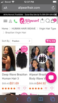 Ailpearl Hair We Accept Payment through Cashapp & Paypal
