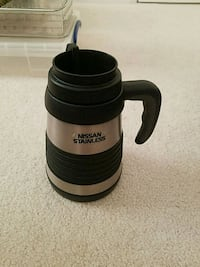 Nissan insulated travel mug in good condition.  Macungie, 18062