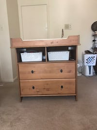 baby changing table with storage Fairfax, 22031