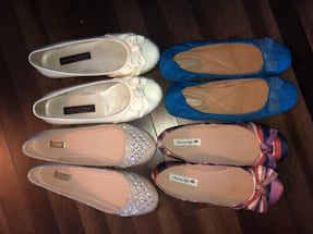 Flats and Sneakers