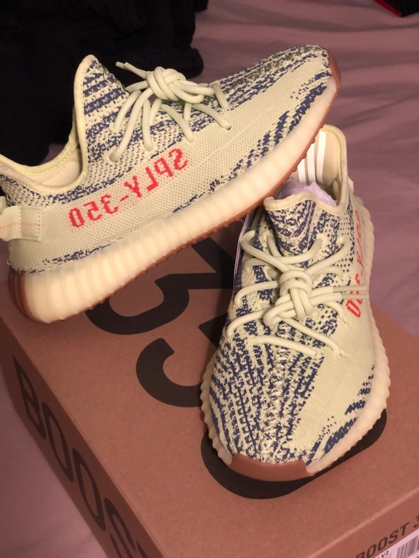Used Frozen Yellow Yeezy 350 V2 Size 7 for sale in Blauvelt - letgo ad234510ae62