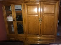 Brown wooden cabinet Frisco, 75034