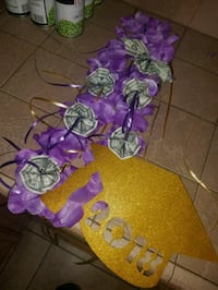 purple and green floral wreath Las Vegas, 89169