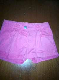 shorts in denim rosa da bambina Ottaviano, 80044