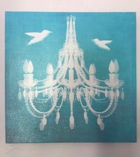 Teal and White Accent Picture Saint Petersburg, 33704