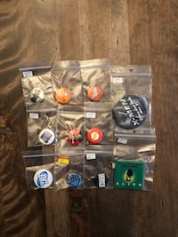 Super hero/ movie themed buttons- assorted Barrie