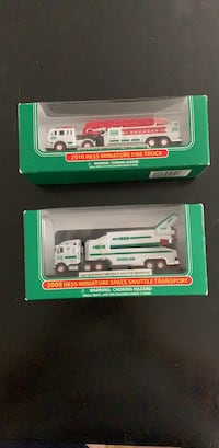 Miniature Hess 2009&2010 collection