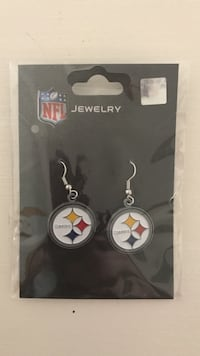 NFL Pittsburgh Steelers Earrings Fairfax, 22033