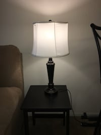 Black and white table lamp Alexandria, 22304