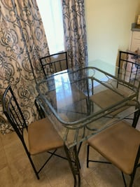 2 Glass Tables with 4 chairs Columbia, 21045