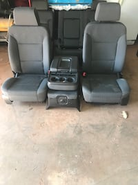 Seats and console 2017 tahoe