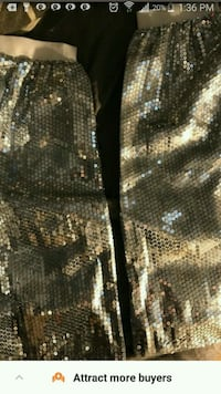 silver sequined leg warmers Taylorsville, 84129