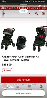 Brand New Graco Stoller and carseat (travel system Rancho Cucamonga, 91739