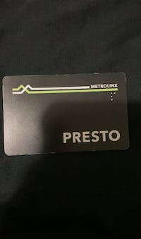 Presto Pass For Sale Toronto, M3J 1K6