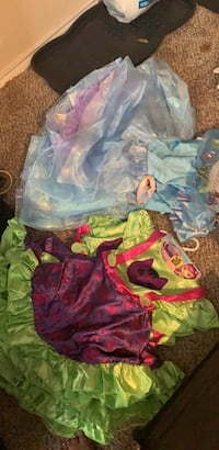 Cinderella dresses and little charmers dresses brand new