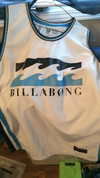 white and blue Billabong jersey Regina, S4R 5L2
