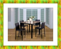 Counter height table with 4 chairs Prince George's County