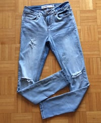 Low Rise Skinny Jeans, size 7 Toronto