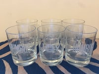 several clear drink glasses Indianapolis, 46220
