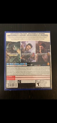PS4 Uncharted 1-3 collection  Barrie