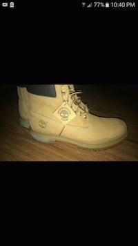 Brown timberlands size 11 Boston, 02115