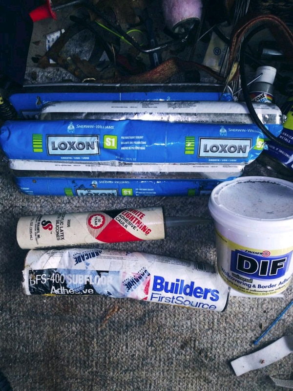 Caulk and other sealant