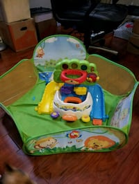 baby's green and blue activity center Las Vegas, 89110