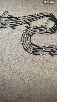 Metal Wall Art Music Notes Frederick, 21702