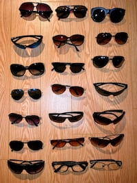 VARIOUS SUNGLASSES/PRESCRIPTIONS BRAND NAME & NON