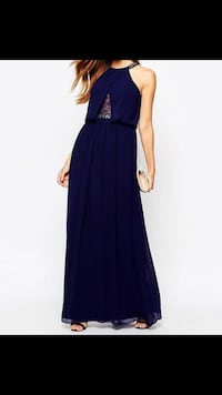 Marineblaue Abendkleid Darmstadt, 64283