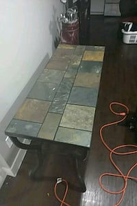 "4'x 20"" stone tile table Surrey, V3S 7B4"